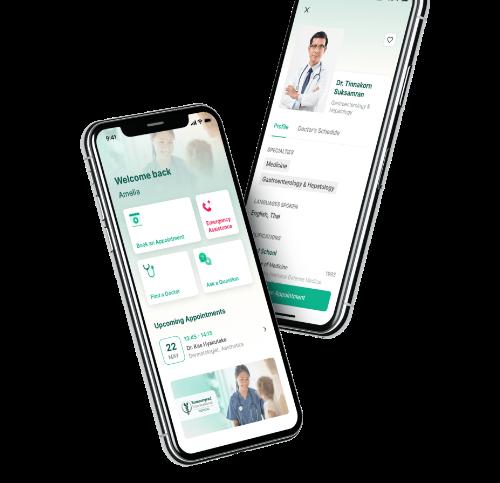 Bumrungrad hospital mobile app